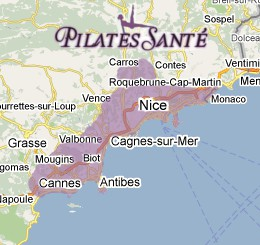 pilates classes on the french riviera