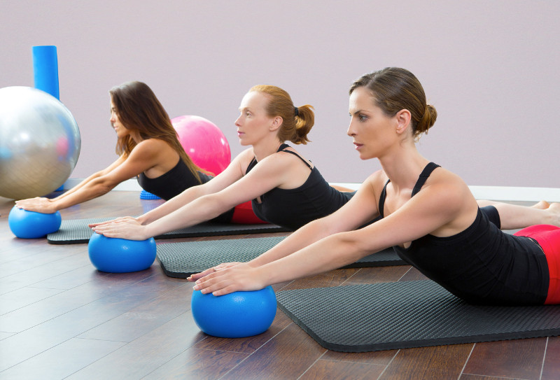 Group pilates classes in Nice